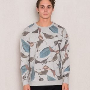 Adrian Hammond Calvin Sweater Grey Melange
