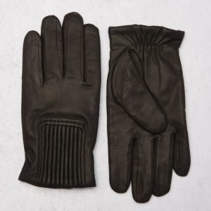 Adrian Hammond Cliff Leather Gloves Black