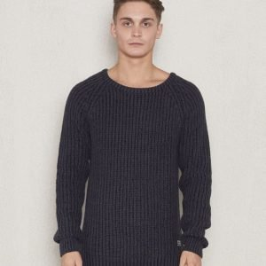 Adrian Hammond Craig Knitted Sweater Black/Grey