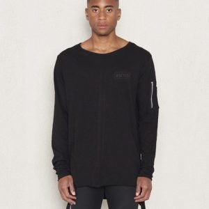 Adrian Hammond Dave Long Sleeve Tee Black