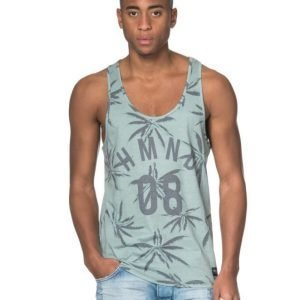Adrian Hammond Eddie Palm Tank Green