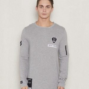 Adrian Hammond Frans Sweater Grey Melange
