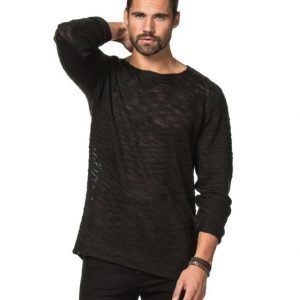 Adrian Hammond Fred Flag Knit Black