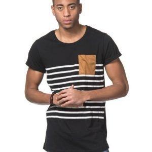Adrian Hammond Hampus Stripe Tee Black/White