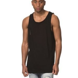 Adrian Hammond Hampus Zip Tank Black