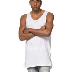 Adrian Hammond Hampus Zip Tank White