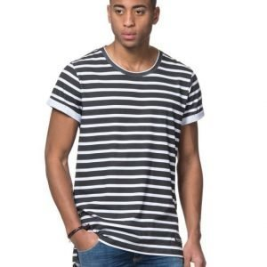 Adrian Hammond Irwin Zip Tee Striped