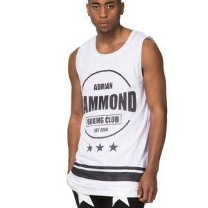 Adrian Hammond Jordan Mesh Tank White