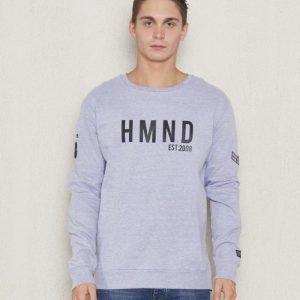 Adrian Hammond Keith Sweater Grey Melange