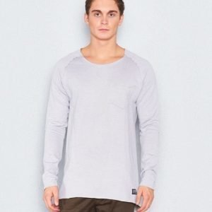 Adrian Hammond Mario Sweater Light Grey Melange