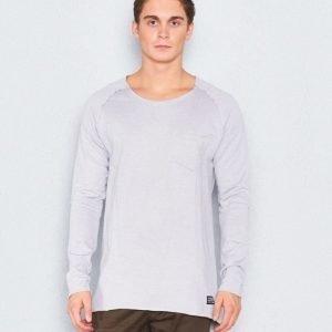 Adrian Hammond Mario Sweater Light Grey Melange