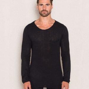 Adrian Hammond Nathan Knitted Sweater Black