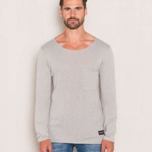 Adrian Hammond Nathan Knitted Sweater Grey Melange