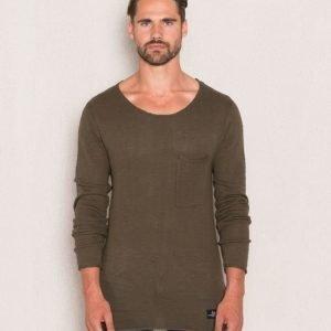 Adrian Hammond Nathan Sweater Khaki Green