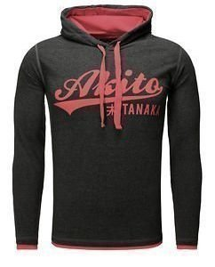 Akito Hoodie Anthra/Red