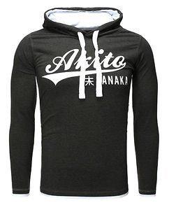 Akito Hoodie Anthra/White