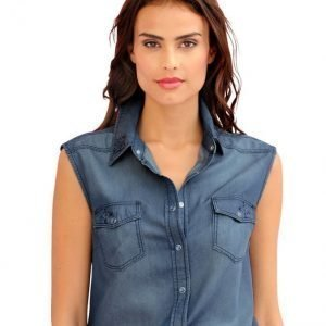 Alba Moda Green Farkkupaita Blue Denim