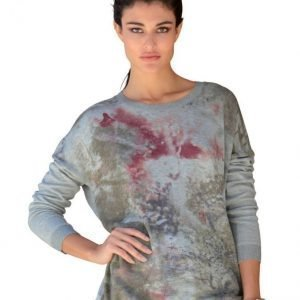 Alba Moda Green Neulepusero Grey Melange With