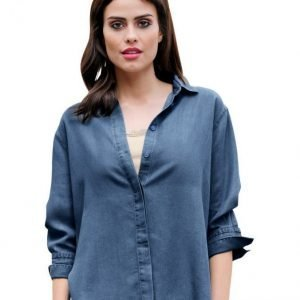 Alba Moda Green Pusero Blue Denim