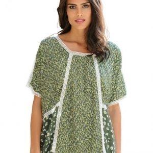 Alba Moda Green Pusero Khaki / Offwhite