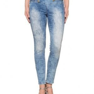 Alba Moda Red Pillifarkut Blue Denim