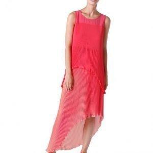 Alba Moda Red Pliseetoppi Pinkki / Nude