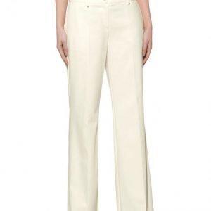 Alba Moda White Housut Offwhite