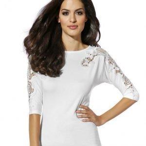 Alba Moda White Paita Offwhite