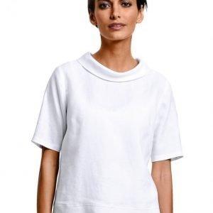 Alba Moda White Pellavapaita Valkoinen