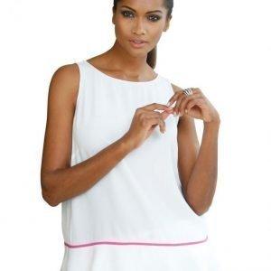 Alba Moda White Toppi White Pink