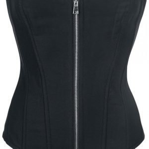Alcatraz Plain Cotton Corset Korseletti