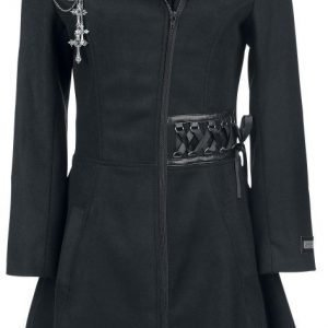 Alchemy Black Tears Coat Naisten Pitkä Talvitakki