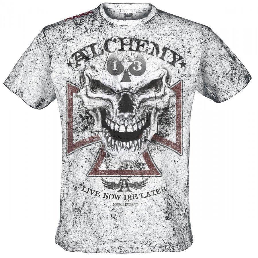 Alchemy England Reaper Cross T-paita
