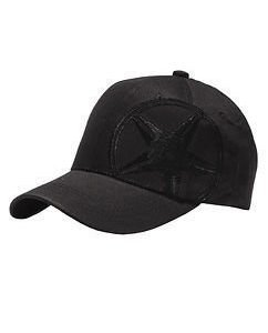 All Blvck Star Cap