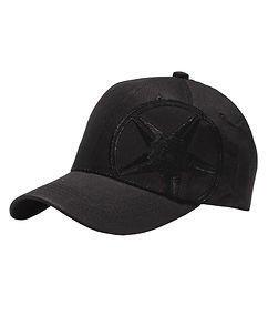 All Blvck Star Cap