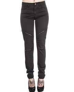 Alline Stretch Biker Black