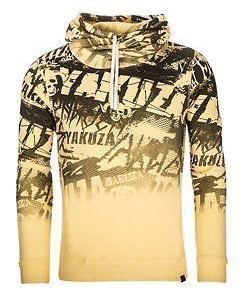 Allover Hoodie Pale Yellow