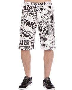 Allover Shorts White
