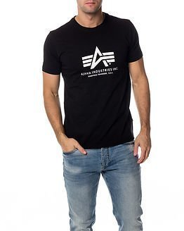 Alpha Industries Basic Alpha T-shirt Black
