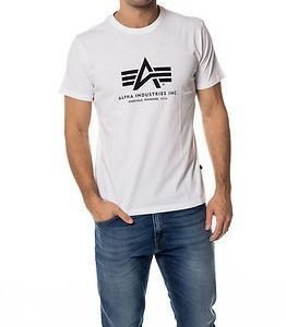 Alpha Industries Basic Alpha T-shirt White