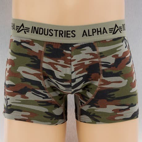 Alpha Industries Bokserit Camouflage