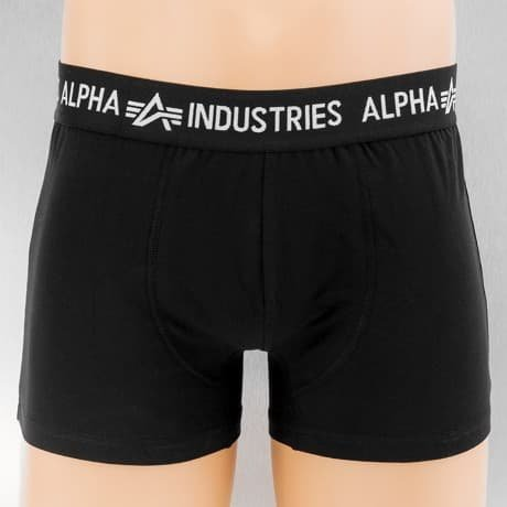 Alpha Industries Bokserit Musta