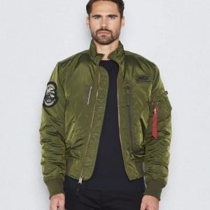 Alpha Industries Engine 257 Dark Green