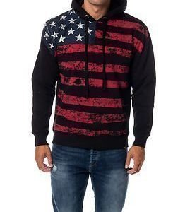 Alpha Industries Flag Hoody Black