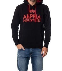 Alpha Industries Foam Print Hoody Black