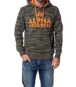 Alpha Industries Foam Print Hoody Camouflage