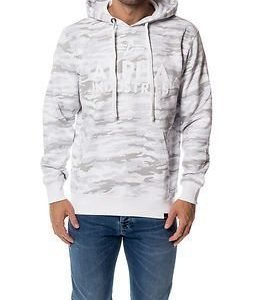 Alpha Industries Foam Print Hoody White Camo