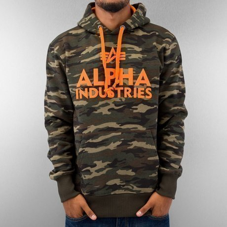 Alpha Industries Huppari Camouflage