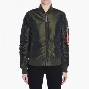 Alpha Industries Inc MA-1 VF 59 Iridium Wmn
