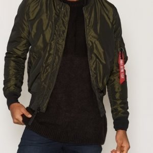 Alpha Industries MA-1 LW Iridium Takki Dark Green